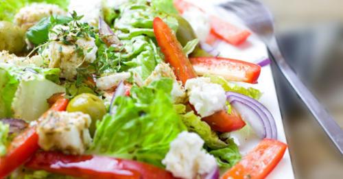 Bild Salatteller